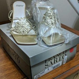 Franco Sarto gold sandal